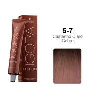 Igora Color10 5-7 Castanho Claro Cobre