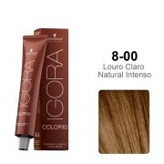 Igora Color10 8-00 Louro Claro Natural Intenso