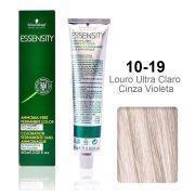 Essensity 10-19 Louro Ultra Claro Cinza Violeta