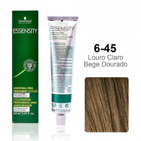 Essensity 6-45 Louro Claro Bege Dourado