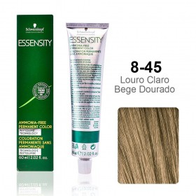Essensity 8-45 Louro Claro Bege Dourado