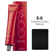 Igora Royal 5-0 Castanho Claro Natural