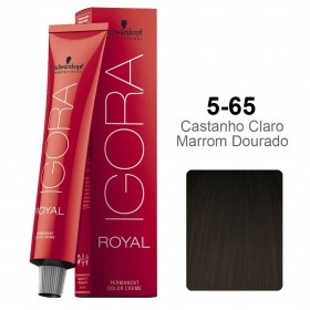 Igora Royal 5-65 Castanho Claro Marrom Dourado