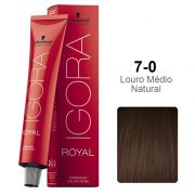 Igora Royal 7-0 Louro Médio Natural