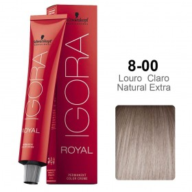 Igora Royal 8-00 Louro Claro Natural Extra
