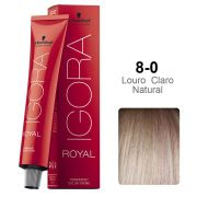 Igora Royal 8-0 Louro Claro Natural