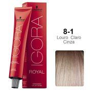 Igora Royal 8-1 Louro Claro Cinza