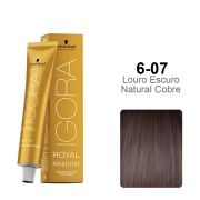 Igora Royal Absolutes 6-07 Louro Escuro Natural Cobre
