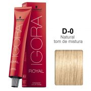 Igora Royal D-0 Diluidor em Tom Natural