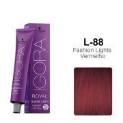Igora Royal Fashion Lights L-88 - Fashion Lights Vermelho
