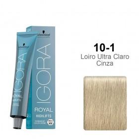 Igora Royal Highlifts 10-1 Louro Ultra Claro Cinza