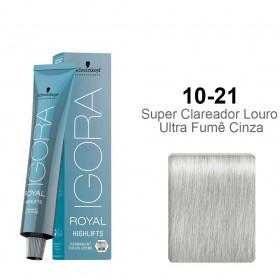 Igora Royal Highlifts 10-21 Super Clareador Louro Ultra Fumê Cinza
