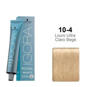Igora Royal Highlifts 10-4 Louro Ultra Claro Bege