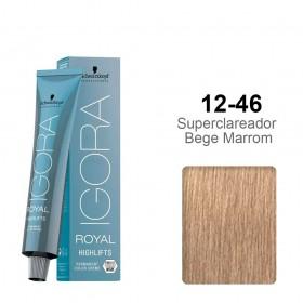 Igora Royal Highlifts 12-46 Super Clareador Bege Marrom