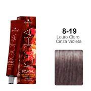 Igora Royal Opulescence 8-19 Louro Claro Cinza Violeta
