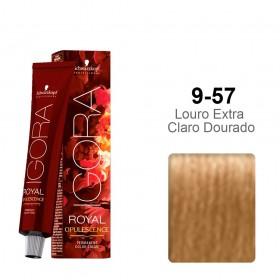 Igora Royal Opulescence 9-57 Louro Extra Claro Dourado Cobre