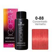 Igora Vibrance 0-88 Concentrado Vermelho