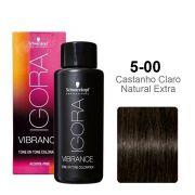 Igora Vibrance 5-00 Castanho Claro Natural Extra