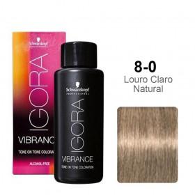 Igora Vibrance 8-0 Louro Claro Natural