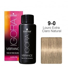 Igora Vibrance 9-0 Louro Extra Claro Natural