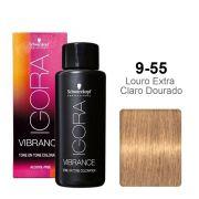 Igora Vibrance 9-55 Louro Extra Claro Dourado