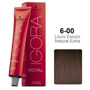 Kit Coloração Igora Royal 6-00 + Ox 40 vol 60 ml