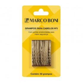 Marco Boni Cartela com Grampos NR 5 dourado 50un