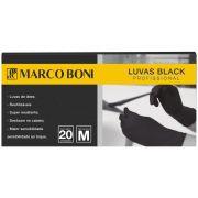 Marco Boni Luva Black M caixa com 20 unidades