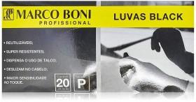 Marco Boni Luva Black P caixa com 20 unidades