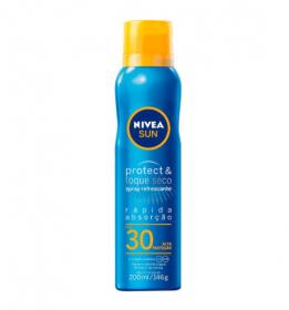 Nivea Protetor Solar Sun Protect & Toque Seco FPS30 Spray 200ml