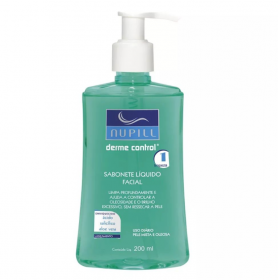 Nupill Sabonete líquido Facial Derme Control
