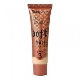 Base Líquida Soft Matte Nude 3