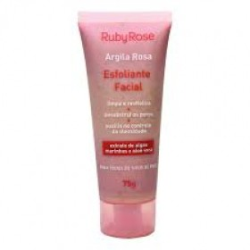 Ruby Rose Esfoliante Facial Argila Rosa
