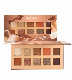 Ruby Rose Paleta de Sombras Latte