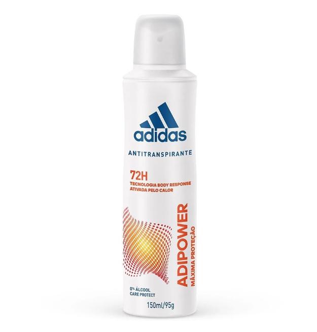 Adidas Desodorante Aerossol Adipower Feminino 150ml