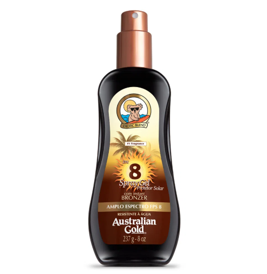 Australian Gold Protetor Solar Spray Gel PFS 8 125ml