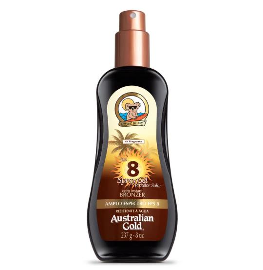 Australian Gold Protetor Solar Spray Gel PFS 8 237ml