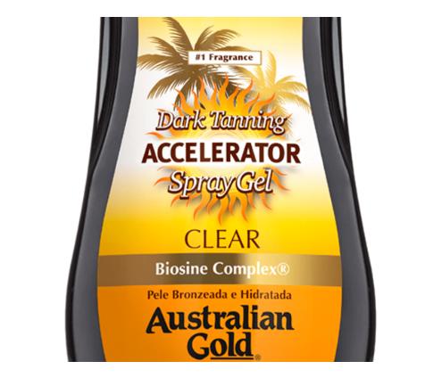 Australian Gold Spray Gel Accelerator Bronzeador 237ml