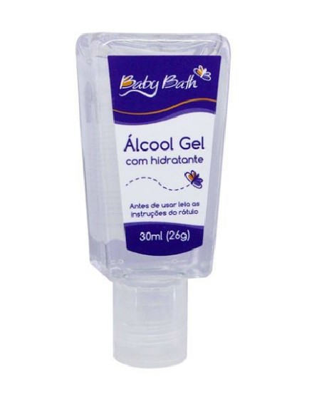 Baby Bath Capinha com Álcool gel 30ml