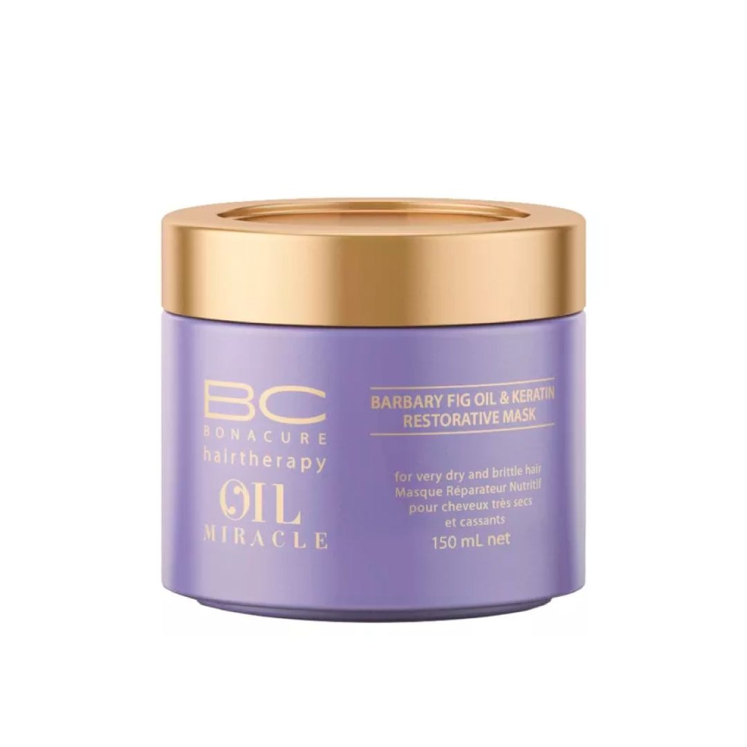 BC Bonacure Oil Miracle Barbary Fig Máscara de Nutrição 150ml