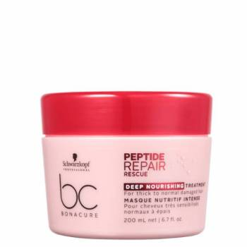 BC Peptide Repair Rescue Máscara Nutrição Intensa 200 ml