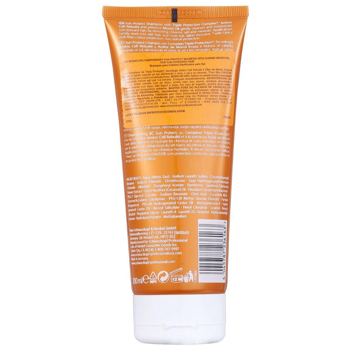 BC Sun Protect Shampoo 200 ml