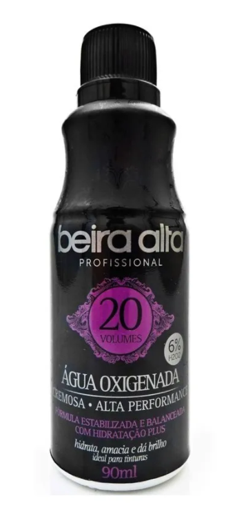 Beira Alta Água Black Oxigenada 20 volumes 90ml