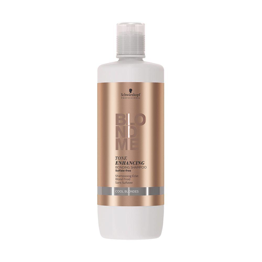 BlondMe Cool Blondes Shampoo Potencializador de Tons Frios e Reforçador de Pontes 1000 ml