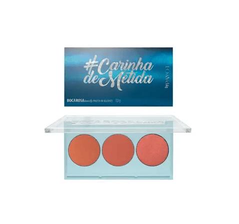 Boca Rosa Paleta de Blush #carinhademetida
