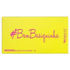 Boca Rosa Paleta de Sombra #bembasiquinha