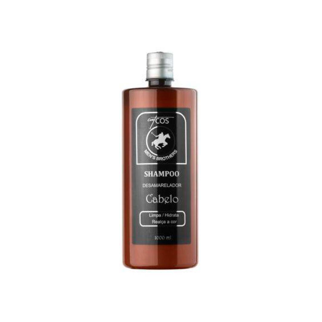 Catcos Men's Shampoo Desamarelador 1000 ml