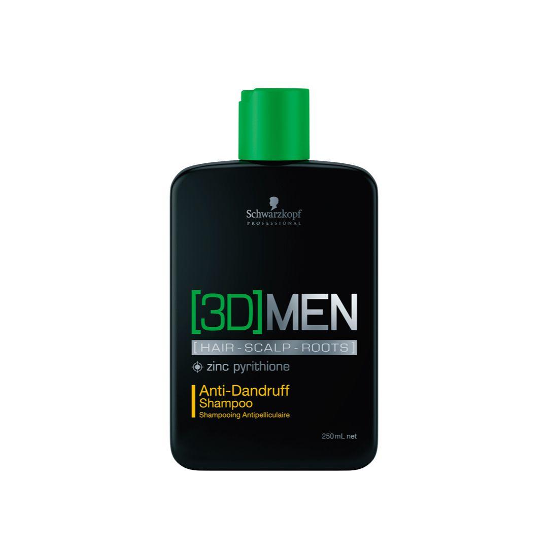 3D-Men Shampoo Anti-Dandruff (Anticaspa) 250 ml
