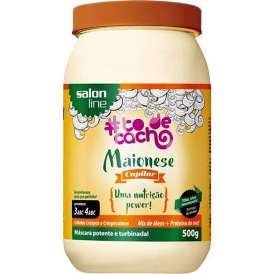 Salon Line Máscara de Hidratação Maionese # tôde cachos 500 gr