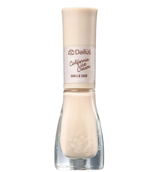 Dailus Esmalte Cremoso California Ice Cream Vanilla Sand